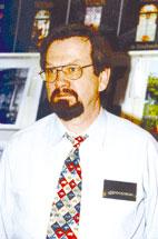 Auf der Leipziger Buchmesse 2001